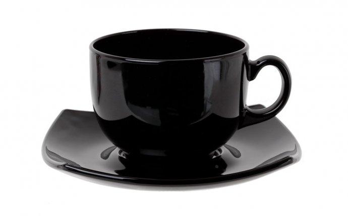 Чайный набор квадрато 220мл белый (c3112)