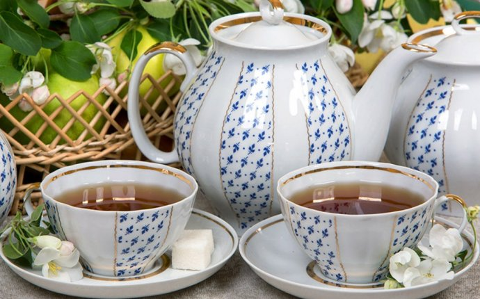 х] Чайные наборы и посуда из российского фарфора