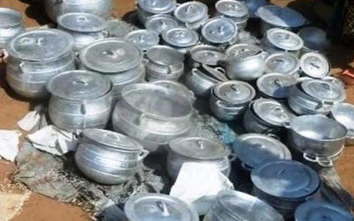 Изготовление алюминиевой посуды на коленке
