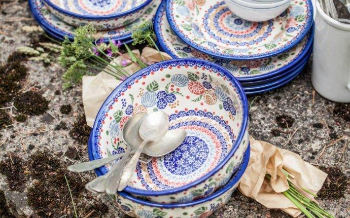 Изготовление современной керамической посуды в ассортименте