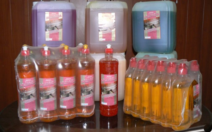 Концентрированное моющее средство для мытья посуды Золушка в