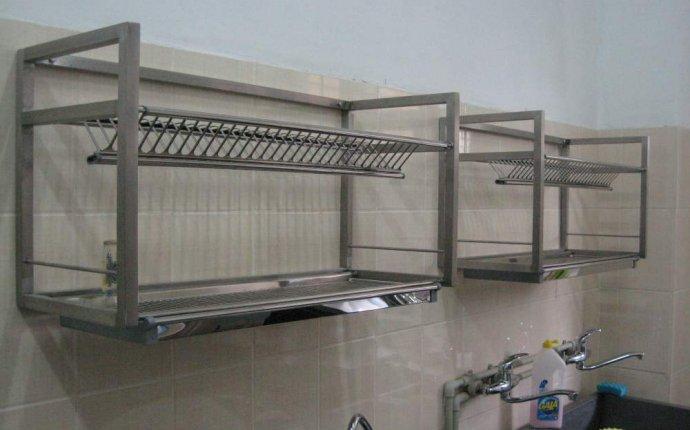 Кухооные принадлежности: сушилка для посуды из нержавейки