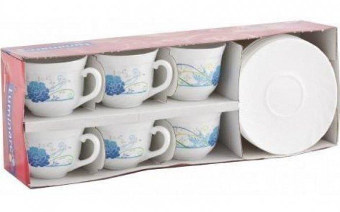 Luminarc (Arcopal) Сервиз Daliane чайный 12 пр. G9454 - Кофейные и