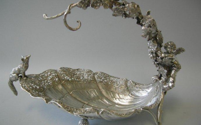 Marinni: Старинная серебряная посуда для чая и кофе