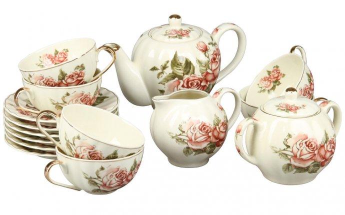 Набор чайной посуды, 15 предметов, Rosenberg 8729
