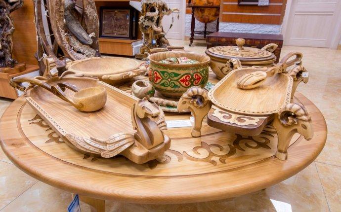 посуда из дерева на заказ