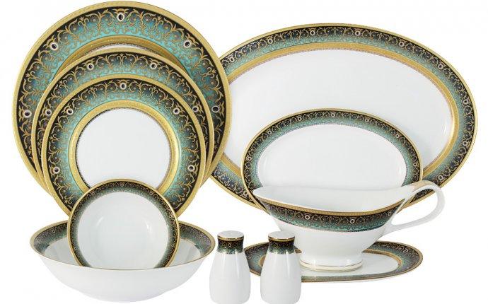 Столовая посуда для дома 51 предмет