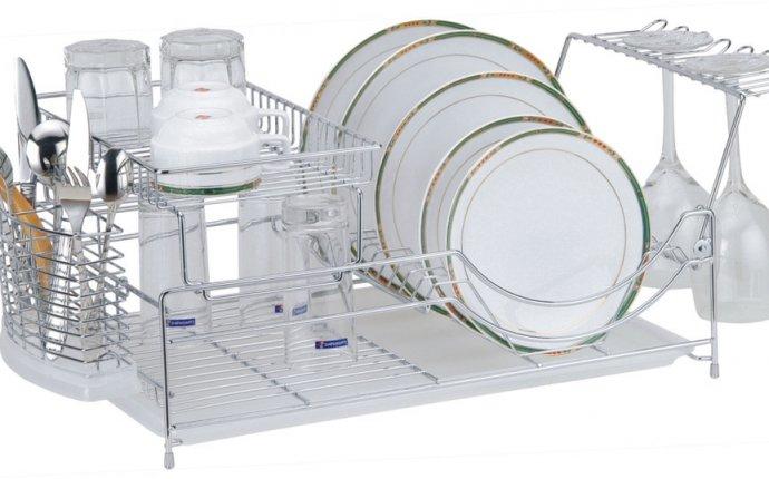 Сушилка для посуды на кухне: типы и особенности