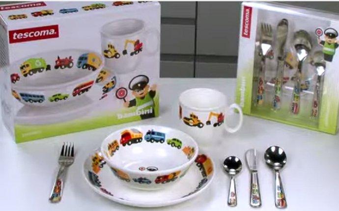 Tescoma Набор посуды BAMBINI, машинки 3 шт 667955