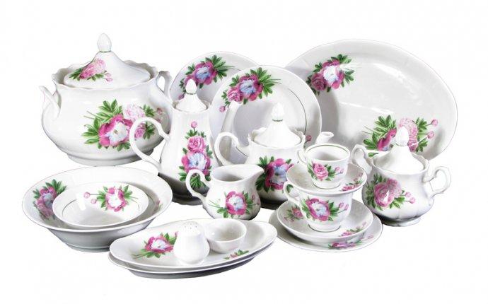 ТК Мир посуды - Каталог / Сервизы столовые, наборы посуды